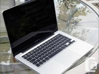 Apple MacBook 13.3'' in good condition. Battery can