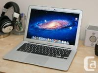 "Selling my 13"" MacBook Air.   Only 1.5 months old."