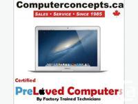 Macbook Air (i5) 13 inch LED screen 1.8--> 2.8 GHZ 4GB