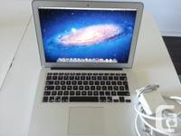 Offer for sale, in excellent condition a Macbook Air