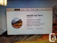 This MacBook Pro is in excellent condition! Upgraded to