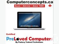 Macbook Pro (i5) 13 inch LED screen 2.5 GHZ 4GB 640GB