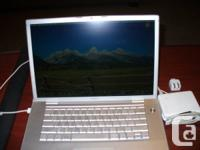 "I have for sale a Macbook pro 15"" model MA896X/A 2.4"