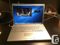 """Selling a 15"""" MacBook Pro apple laptop with a great"""