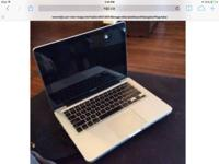 Selling MacBook Pro in its original box with newly