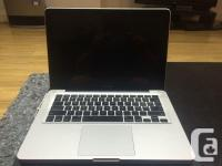 I am selling my Macbook Pro which I have recently