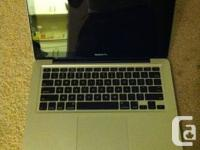 Hello!  I am selling a MacBook Pro MID-2010 Version,