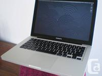 - LIKE NEW. . . no scratches on my late 2011 i5 MacBook