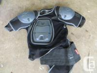 Mace Swat Jacket downhill armour. size Large.