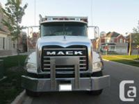 Call now -- don't miss out on this 2006 MACK GRANITE CT