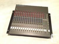 Mackie CR1604 that has been rack mounted in the studio