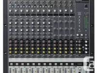 Mackie Onyx 1620 16-Channel Mixer  Great live mixer &