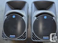 Original Owner of these pair of two powerful speakers.