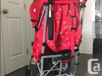 Great condition 5 year old Maclaren stroller. No rips