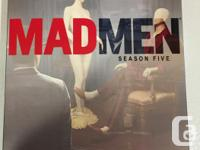 Mad Men Seasons 3, and 4 In perfect condition, only