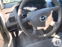 Make Mazda Model MAZDA5 Year 2000 Colour Gold kms