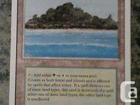 These six dual lands are from the revised edition of