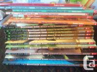 9 hardcover Magic Treehouse books, 27 soft cover Magic