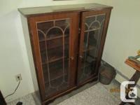 Downsizing with 3 antique cupboards available all with