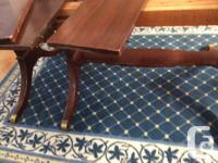 Antique Mahogany Dining table in great condition. Size