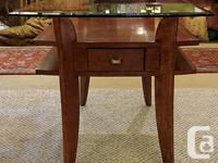 Thank you for your interest in our Solid Mahogany Side