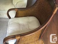 These indoor/outdoor quality furniture pieces include