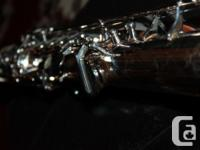 This ASS62S soprano sax silver version is rare as well