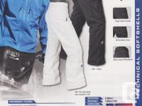 Stormtech HSP-1 Epsilon trousers, size medium, granite
