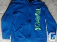 Boys Blue Hurley Hoodie in a lot of problem. Size Xl