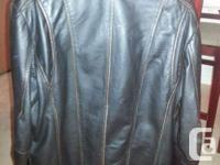 Males Danier Leather jacket for sale. Large size with a