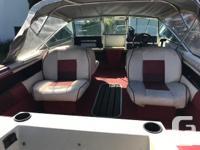 Malibu 16.2 built in Vernon BC 1989 Evinrude 110 hp, 4