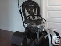Mamas & Papas Mylo Grey Stroller for sale.  Free bonus