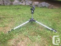 Manfrotto 055C tripod and Gitzo G 1376 Ball Head. Old for sale  British Columbia