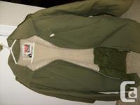 For sale men's Crew King winter coat, size 46-XL but I