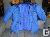 """Ce manteau Kanuk bleu put homme de taille 6 (TG, 50"""""""