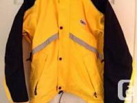Manteau pour velo impenetrable de marque Louis Garneau