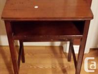1-3 nesting tables 22x14 &65.00 2-22wx14dx21h