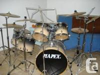 Mapex Pro M Series Drums for sale with extras. Kit is