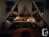 Custom, handmade altar..display or shelving unit. We