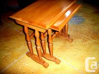 Solid Rock Maple made by Roxton 2 pc. set $199.95