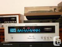 Very nice Marantz 105 stereo tuner,perfect match for