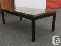 New never used coffee table and 2 side tables for sale