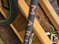 21 speed Marin bike. It's a great bike and this bike