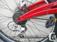 Marin East Peak dual suspension mountain bike. 26 inch