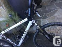 Marin Pine Mountain hardtail, Shimano Deore components.