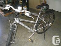 "Ladies bike in great shape...24 speed shimano...15.5"""