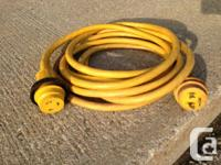 """Marinco"" Marine 25' 30 Amp 10AWG Shore Power Extension"