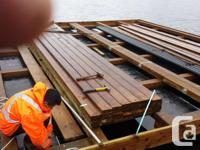Cutter Marine builds docks and ramps for all