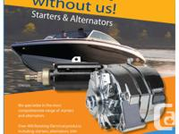 We specialize in Marine Inboard and Outboard Starter,