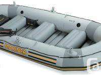 Selling both my Intex Mariner inflatable boat and Minn